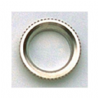 Deep Thread Round Nut for Switchcraft Toggle Switches Nickel EP-4923-001